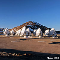 ALMA ground based astronomy project